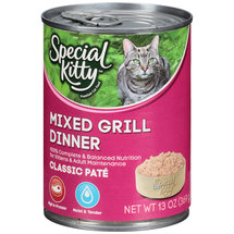 Special Kitty Mixed Grill Dinner Cat Food