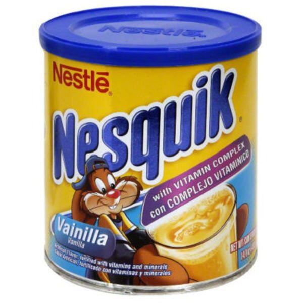 Nestle Nesquik Fortified Vanila Flavored Milk Powder Flavored Milk Powder