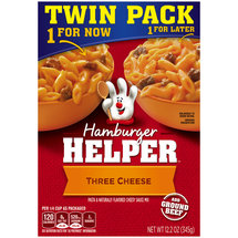 Betty Crocker Three Cheese Hamburger Helper Twin Pack