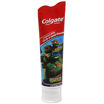 Colgate Kids Teenage Mutant Ninja Turtles Anticavity Fluoride Toothpaste Stand Up Tube