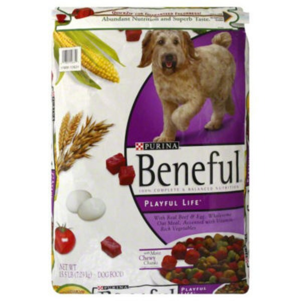 Purina Beneful Dry Dog Food Playful Life With Real Beef Egg