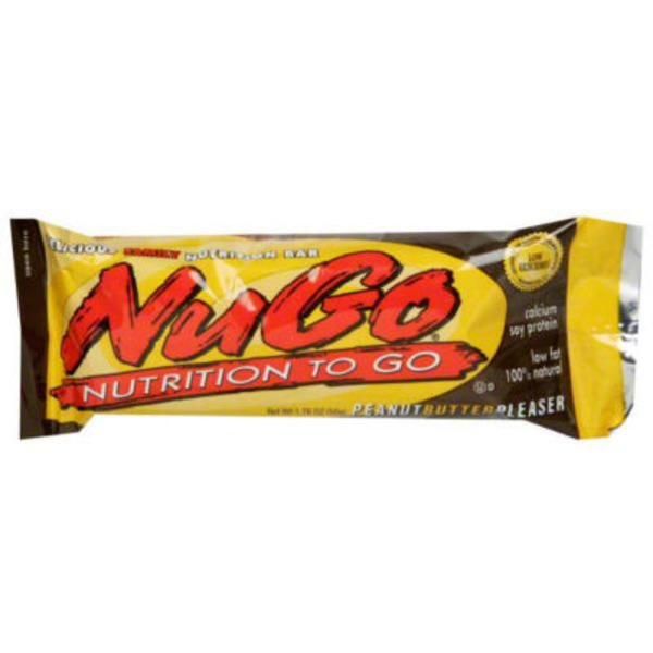 NuGo Peanut Butter Pleaser Family Nutrition Bar