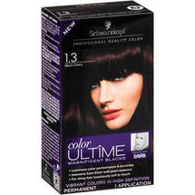 Schwarzkopf Color Ultime Magnificent Blacks Hair Coloring Kit 1.3 Black Cherry