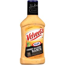 J.L. Kraft Velveeta Cheesy Jalapeno Ranch Dressing & Dip