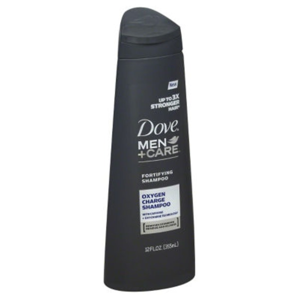 Dove Men+Care Oxygen Charge Shampoo
