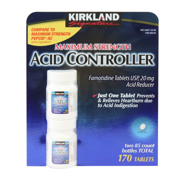 Kirkland Signature Maximum Strength Acid Controller 20mg