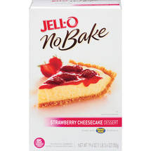 Jell-O No Bake Strawberry Cheesecake Dessert Mix