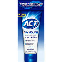 ACT Dry Mouth Soothing Mint Anticavity Fluoride Toothpaste