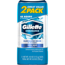 Gillette Clear Gel Cool Wave 3X Triple Protection Deodorant