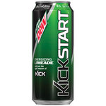 Mountain Dew Kickstart Limeade Juice Drink