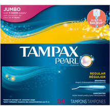 Tampax Pearl Tampons Regular Unscented