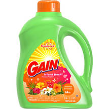 Gain 2X Concentrated Island Fresh Liquid Laundry Detergent