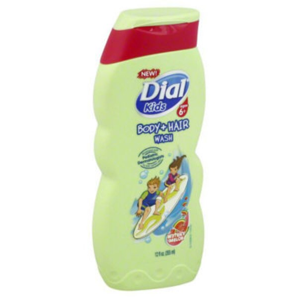 Dial Body Wash Kids Watery Melon Body + Hair Wash