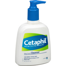 Cetaphil For Normal to Oily Skin Daily Facial Cleanser