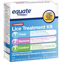 Equate Lice Solution Kit Equate Complete Lice Treatment Kit