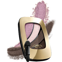 L'Oreal Paris Colour Riche Eye Shadow Quads Cookies & Cream Rose for Romance