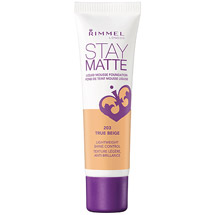 Rimmel London Stay Matte Liquid Mousse Foundation 203 True Beige