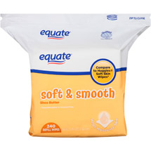 Equate Soft & Smooth Shea Butter Wipes