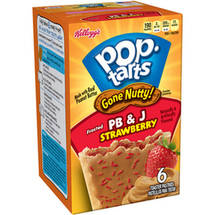 Kellogg's Pop-Tarts Frosted PB & J Strawberry Toaster Pastries