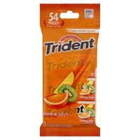 Trident Tropical Twist Sugar Free Gum with Xylitol