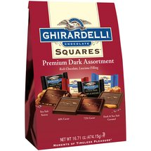 Ghirardelli Squares Premium Dark Chocolate Assortment