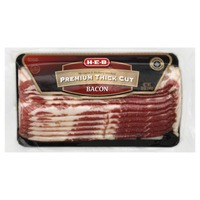 H-E-B Premium Thick Cut Bacon Mesquite & Hickory Smoked