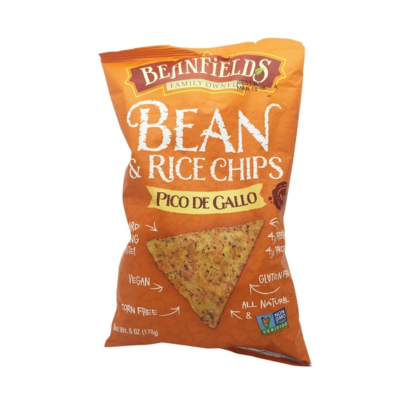 Beanfields Mild Pico De Gallo Bean and Rice Chips