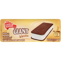 Good Humor Ice Cream & Frozen Desserts Giant Vanilla Ice Cream Sandwich
