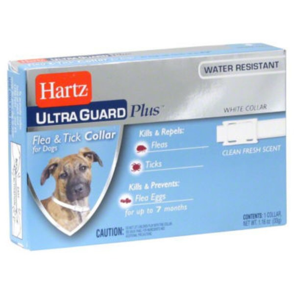 Hartz Ultra Guard Plus Flea & Tick Collar For Dogs Fits Up to 22