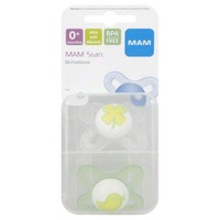 Mam Start 2 Newborn Orthodontic Pacifiers Sterilizer & Carry Box