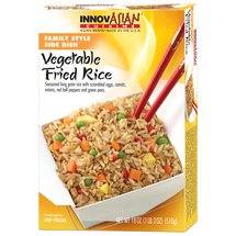InnovAsian Cuisine Vegetable Fried Rice Family Style Side Dish