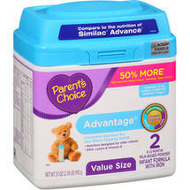 Parent's Choice Advantage Tub Powder Stage 2 Formula