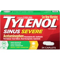 Tylenol® Severe Daytime Non-Drowsy Caplets Sinus Congestion & Pain