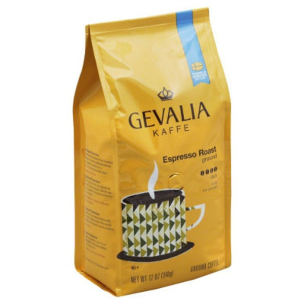 Gevalia Espresso Roast Ground Coffee