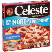 Celeste Pepperoni Pizza for One