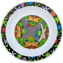 Gerber Graduates Teenage Mutant Ninja Turtles Dinnerware Bowl BPA-Free