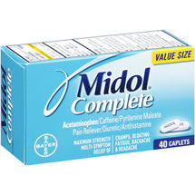 Midol Complete Maximum Strength Pain Reliever