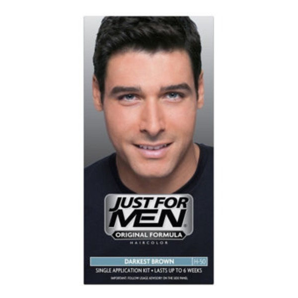 Just For Men Targets Gray Darkest Brown H-50 Shampoo-In Haircolor