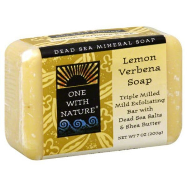 One With Nature Lemon Sage Triple Milled Soap
