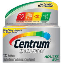 Centrum Silver Adults 50 Multivitamin/Multimineral Supplement Tablets