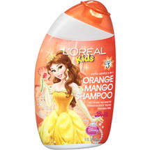 L'Oreal Kids Disney Princess Belle Orange Mango Shampoo
