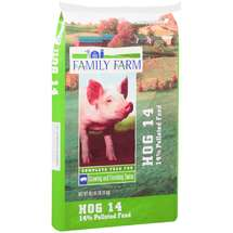 Family Farm 14% Pelleted Complete Hog 14 Feed
