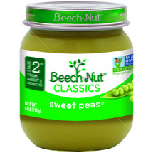 Beech Nut Tender Swert Peas Stage 2 Baby Food