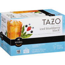 Tazo Sweetened Iced Blushberry Black Tea K-Cups