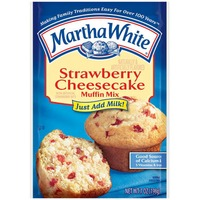 Martha White Muffin Mix, Strawberry Cheesecake