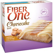 Fiber One Salted Caramel Cheesecake Bars