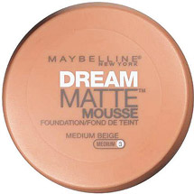 Maybelline Dream Matte Mousse Foundation Medium Beige