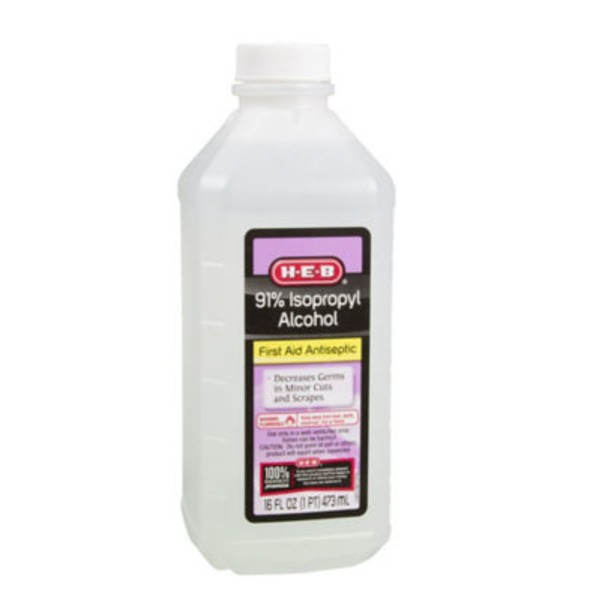 H-E-B 91% Isopropyl Alcohol