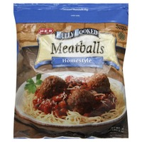 H-E-B Fully Cooked Homestyle Meatballs