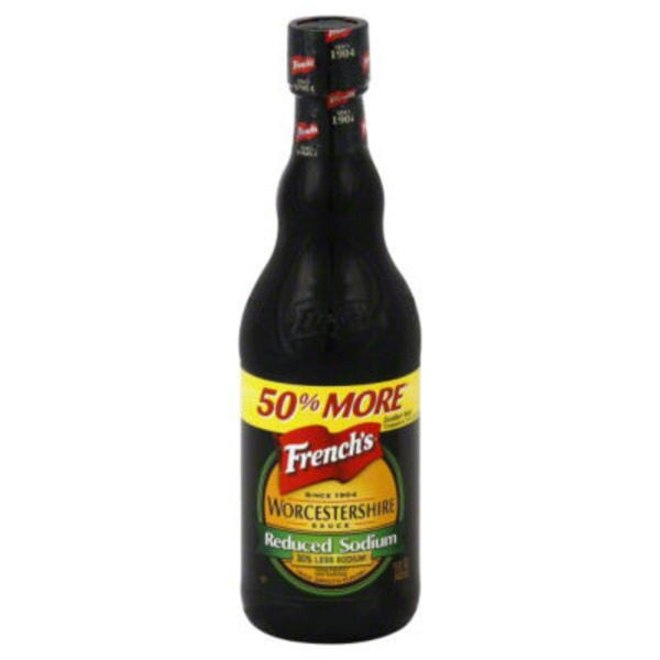 French's Worcestershire Sauce 40% Reduced Sodium